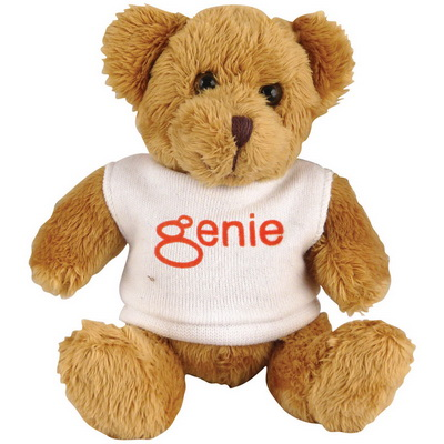 Image of 5 inch Robbie Bear with White T Shirt