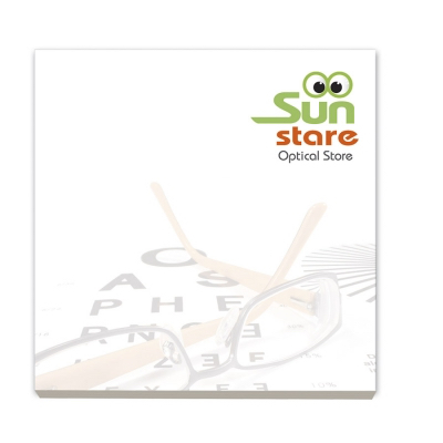 Image of BIC® 75 mm x 75 mm 50 Sheet Adhesive Notepads