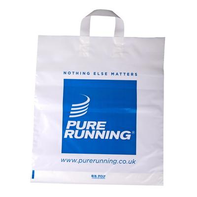 Image of Flexi Loop Handle Polythene Carrier Bag