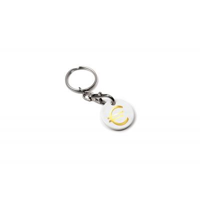 Image of Euro Trolley Coin Keyring