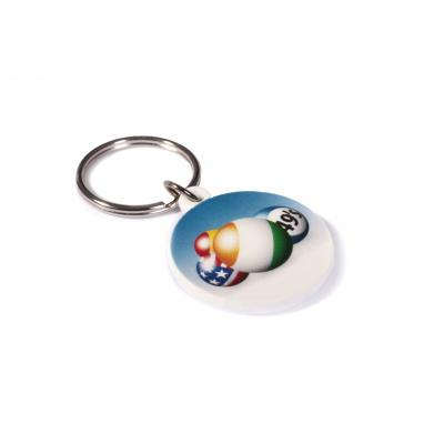 Image of 30mm Circle Keyring