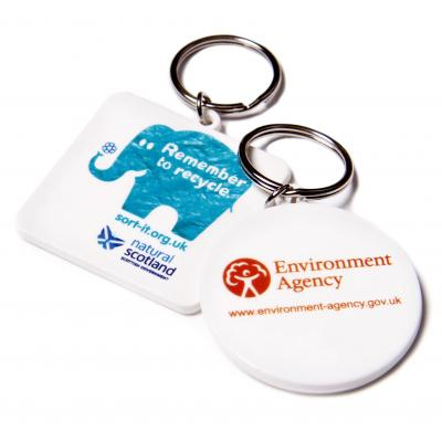 Image of 45mm Square Keyring
