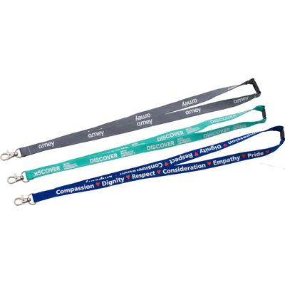 Image of Silkscreen Printed Lanyard