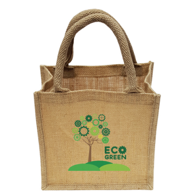Image of Mini Natural Jute Eco Shopper