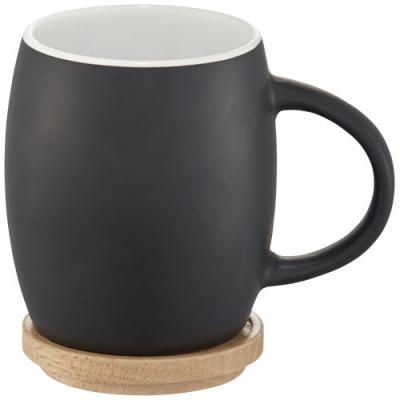 Image of Hearth Ceramic Mug with Wood Lid/Coaster
