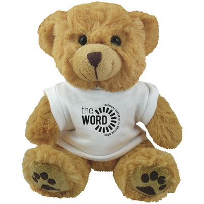 "Image of 10"" Dexter Bear and White T Shirt"