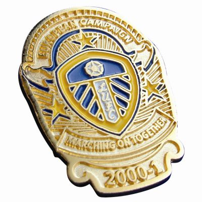 Image of 40mm Stamped Iron Soft Enamelled Metal Badge