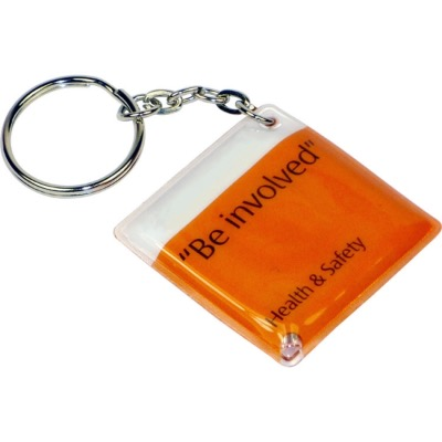 Image of Welded PVC Torch Keyring