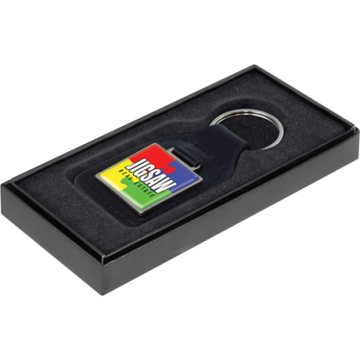 Image of Emperor Square Keyring with Box