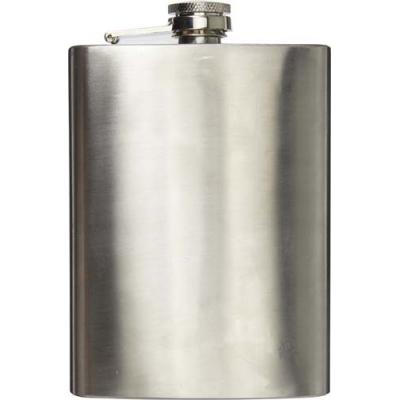 Image of Stainless steel hip flask (240ml)