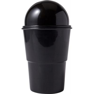 Image of Handy miniature plastic wastepaper basket
