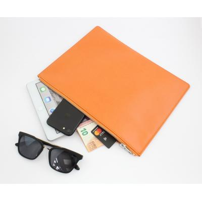 Image of Belluno Coloured PU Large Zipped Pouch